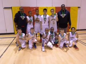 Bantam U13 boys won gold at the Cambridge Tournament in Feb 2015