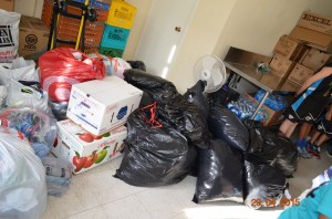 Various donations collected